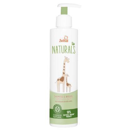 Zwitsal Shampoo & Wasgel Naturals 250 ml (250ml)