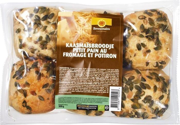 Kaasmaïs-broodjes (zak, 6 stuks) (6 × 300g)