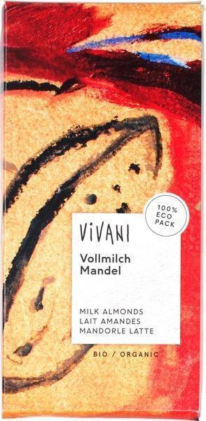Vivani Vollmilch Mandel (100g)