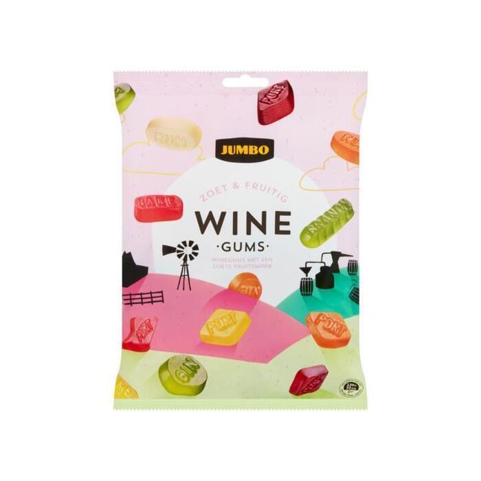 Jumbo Zacht suikerwerk snoepgoed winegums 500 gram (500g)