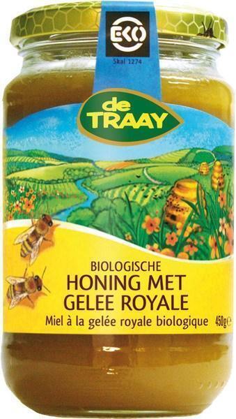 Honing met gelee royale (pot, 450g)
