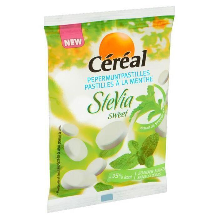 Cereal Pepermuntpastilles stevia (100g)