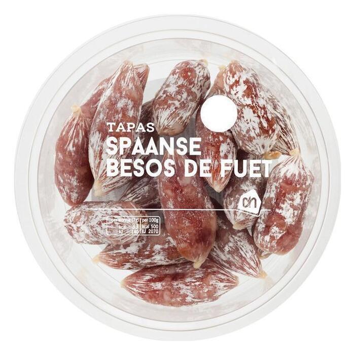 AH Spaanse besos de fuet (98g)