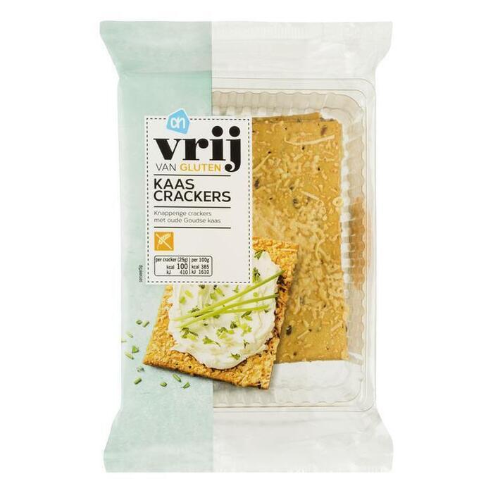 AH Vrij van gluten kaascrackers (175g)