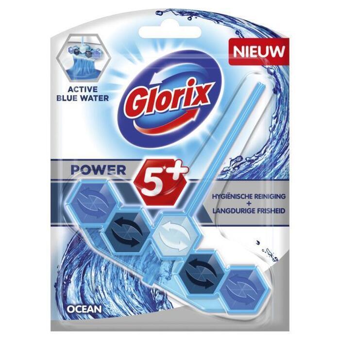Glorix Wc Blok blauw water ocean (53g)