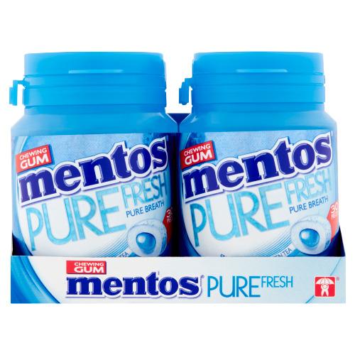 Mentos Gum Pure Fresh Fresh Mint Sugar Free 6 x 60 g (60g)