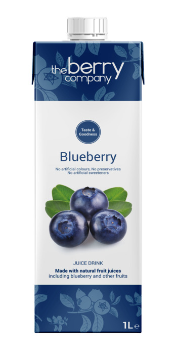 The Berry Company Blueberry (kartonnenpak, 1L)