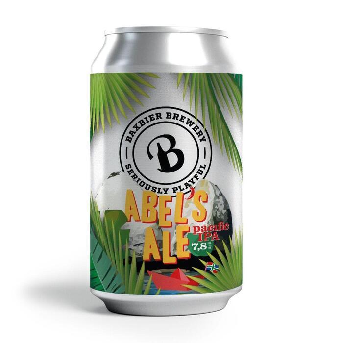 Bax Abel's IPA bier blikje (33cl)