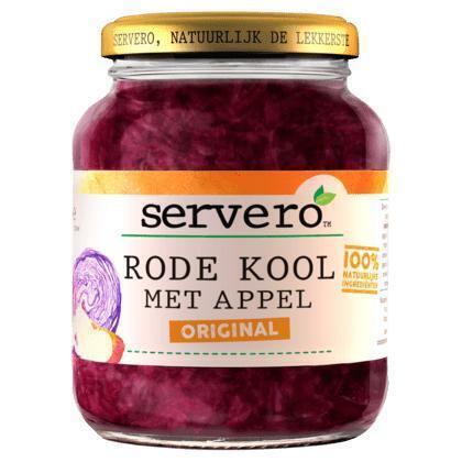 Servero Rode Kool met Appel Original 700 g (700g)