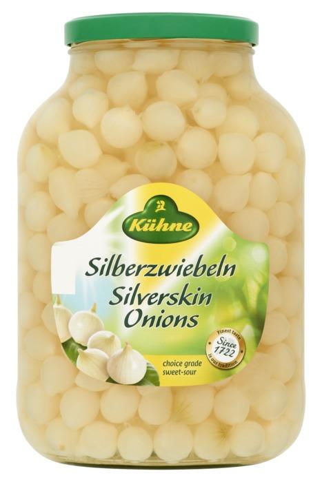 Kühne Silverskin Onions 2400 g (2.4kg)