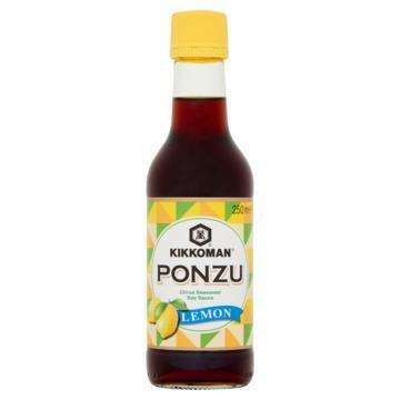 Kikkoman Ponzu Citrus Seasoned Soy Sauce Lemon 250 ml (250ml)