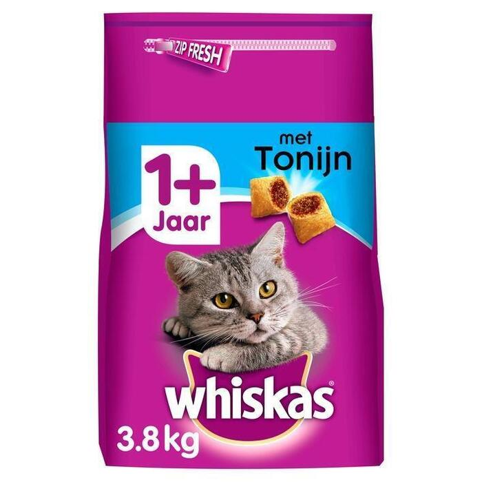 Whiskas Adult brokjes tonijn (3.8kg)