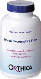 Orthica voedingssupplement stress B-complex forte 90 stuks pot