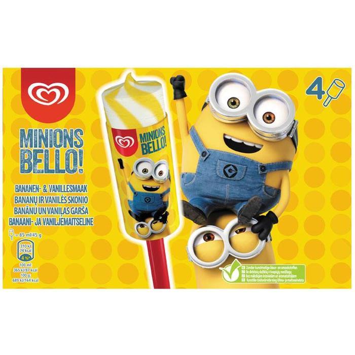 Minions bello! (Stuk, 4 × 34cl)