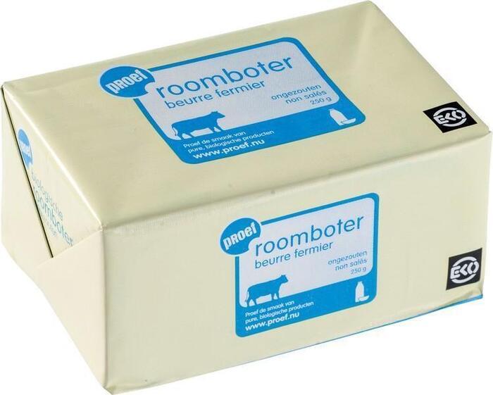 Roomboter (ongezouten) (250g)