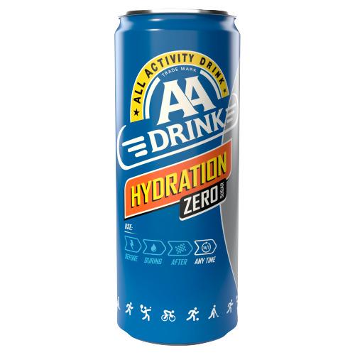 AA Drink Hydration Zero Sugar 250 ml