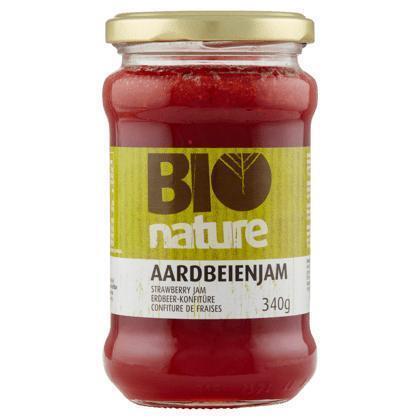 Bio Nature Aardbeienjam 340 g pot (340g)