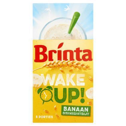 Wake Up! Drinkontbijt Banaan (doos, 5 × 23g)