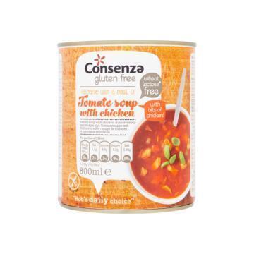 Tomatensoep met stukjes kip (0.8L)