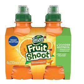 Robinsons Fruit shoot sinaasappel fles 4 x 20 cl (4 × 0.8L)