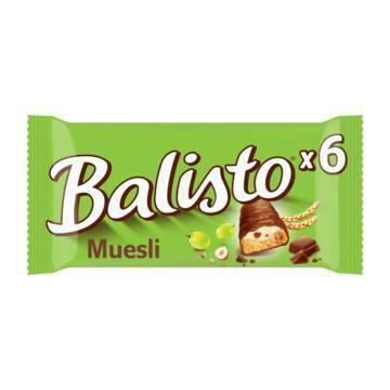Balisto Muesli-Mix (zak, 6 repen) (6 × 18.5g)
