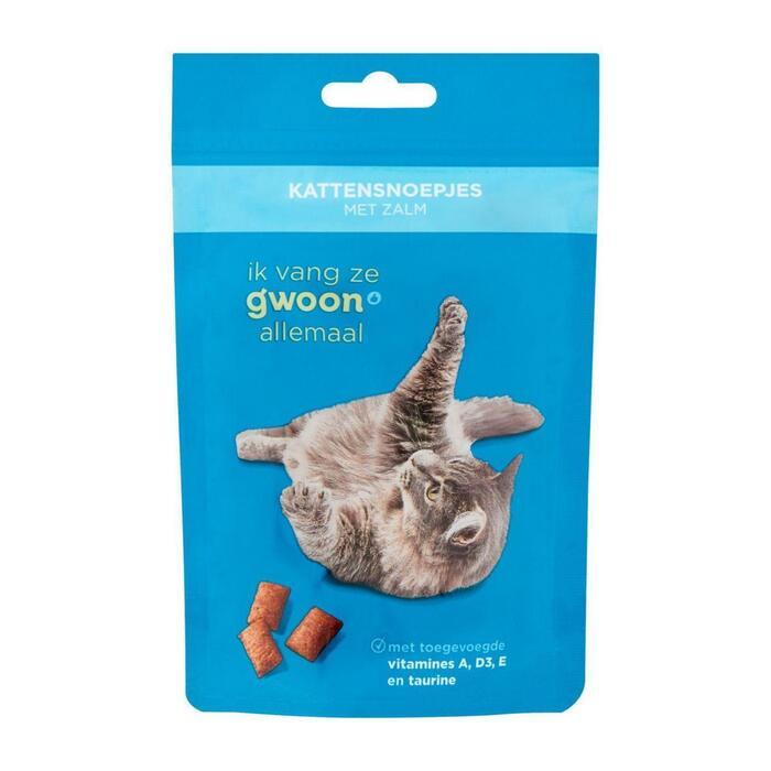 g'woon Kattensnack zalm (60g)