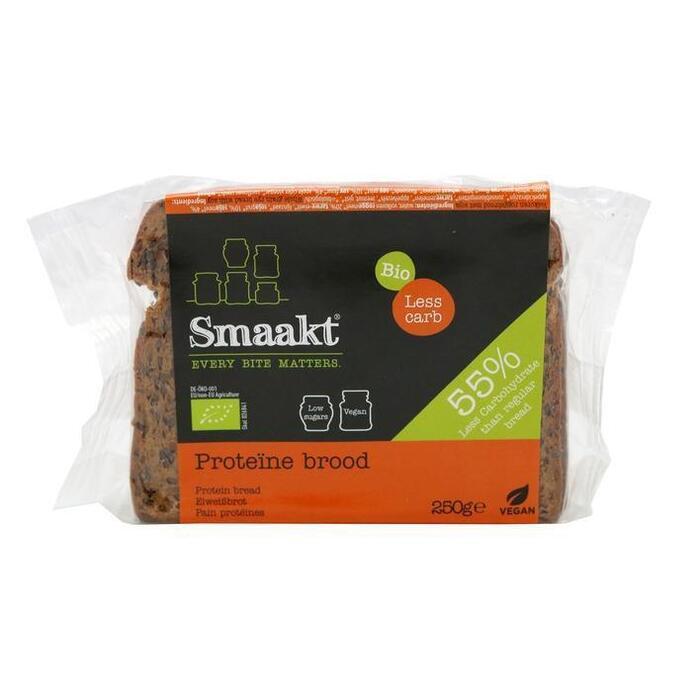 Smaakt Low carb brood bio (250g)