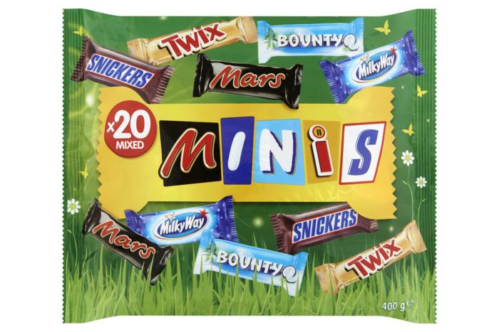 Minis Mixed 20 Stuks 400 g (20 × 20g)
