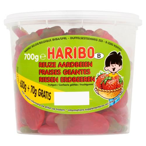 Haribo Reuze Aardbeien 700 g (700g)