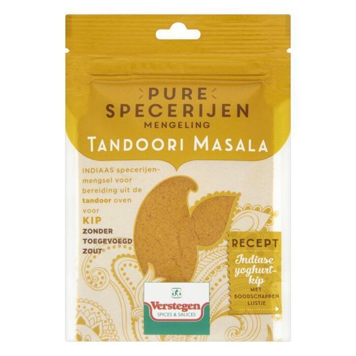 Verstegen Pure specerijen mengeling tandoori masala (40g)