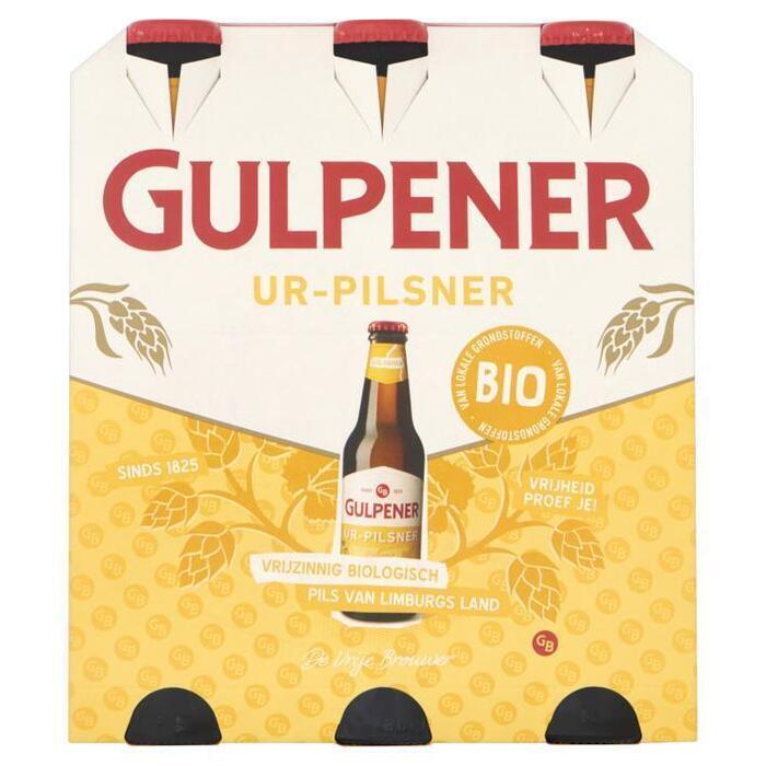 Gulpener Biologisch Ur-Pilsener (rol, 6 × 33cl)