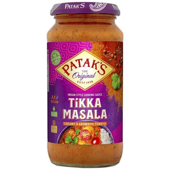 Patak's curry sauce tikka masala 450g (450g)