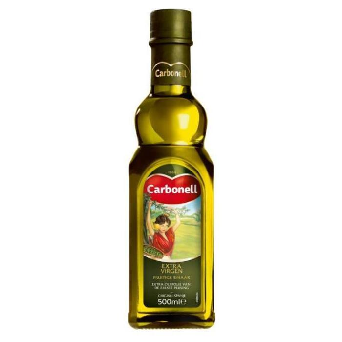 Extra Virgen olijfolie (glazen fles, 0.5L)
