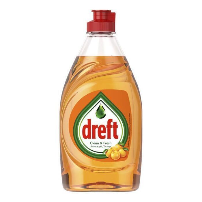 Dreft Clean & Fresh Afwasmiddel Sinaasappel 383 ml (38.3cl)