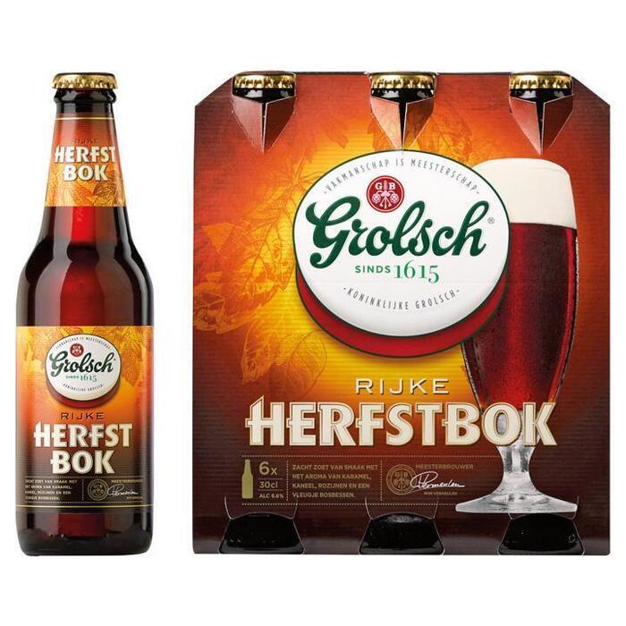 Grolsch Rijke Herfstbok (rol, 6 × 30cl)