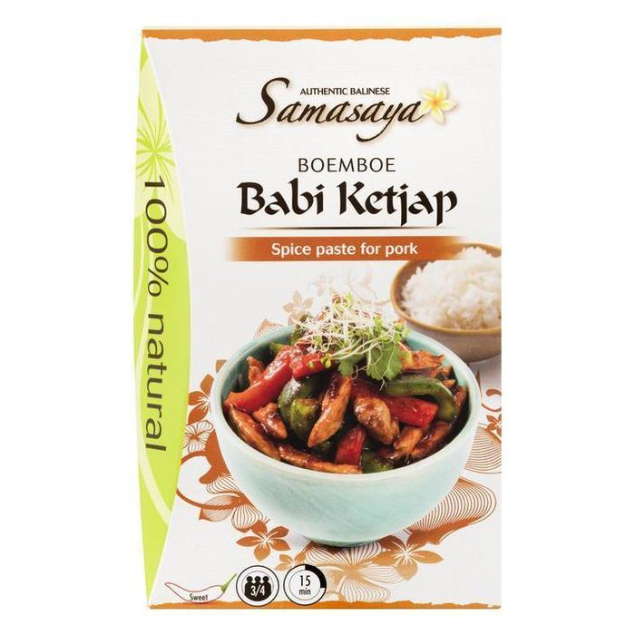 Boemboe Babi Ketjap Spice Paste for Pork 130 g (130g)