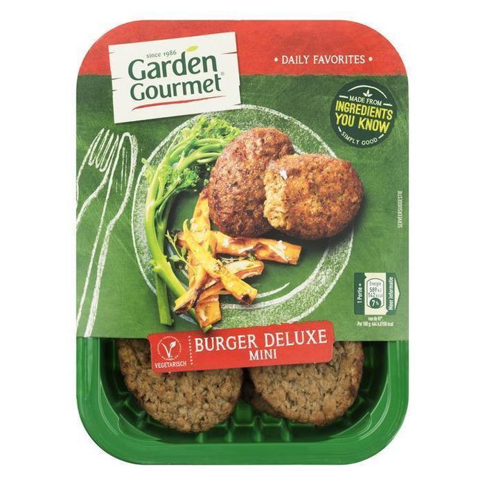 Vegetarische Burger Deluxe (bak, 180g)