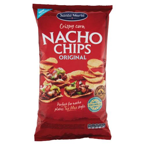 Santa Maria Crispy Corn Nacho Chips Original 475g (475g)