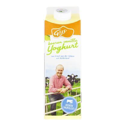 Boeren vanilleyoghurt (pak, 1L)