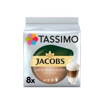 Tassimo Latte Macchiato Classico 8 Stuks (264g)