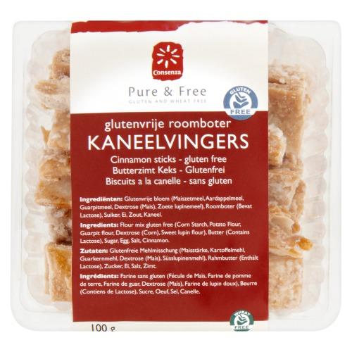 Consenza Kaneelvingers (100g)
