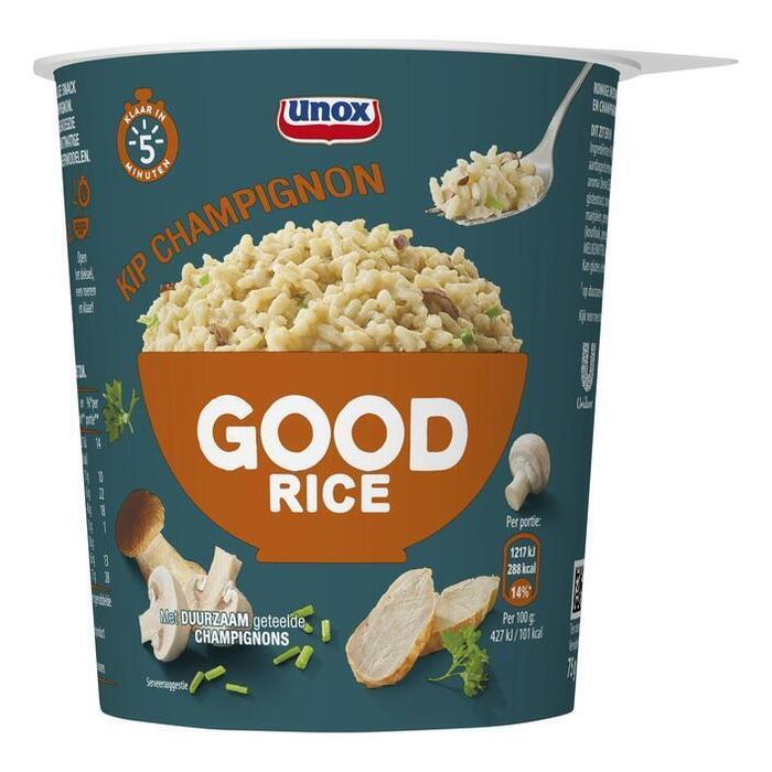 Unox Good rice risotto kip champignon (30cl)