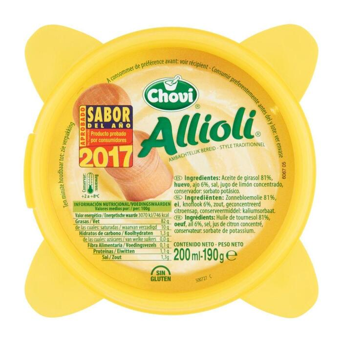 Allioli (kuipje, 200ml)