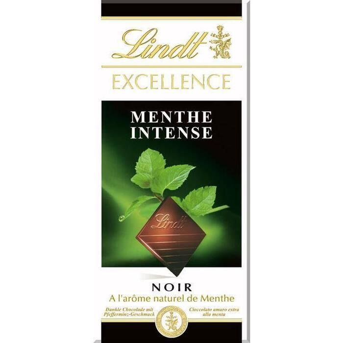 Lindt Excellence menthe intense (100g)