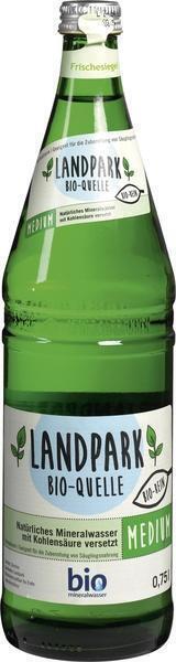 Natuurlijk mineraalwater met koolzuur (0.75L)