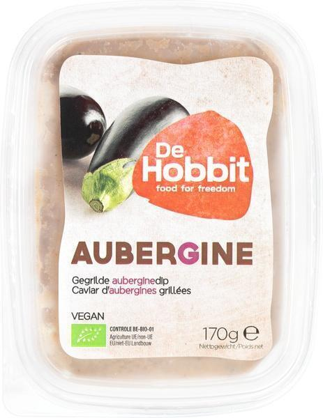 Gegrilde auberginedip (170g)