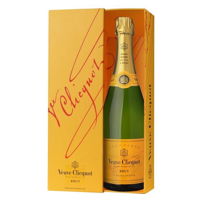 Veuve Clicquot Brut Champagne 750ML (0.75L)