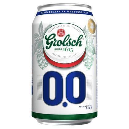 Grolsch 0.0 Blik (rol, 33 × 33cl)