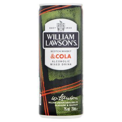 William Lawson's Whisky & cola (250ml)