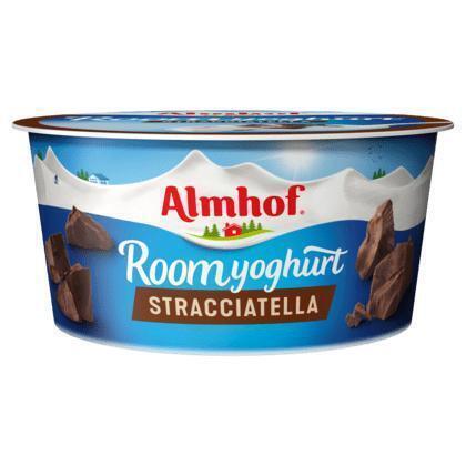 Roomyoghurt stracciatella portieverpak (150g)